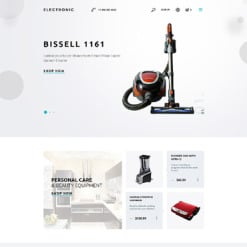 Responsives PrestaShop Theme für  Elektronikgeschäft