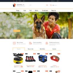 Responsives PrestaShop Theme für Tiere und Haustiere
