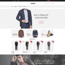 Адаптивный Magento тема №58442 на тему Шаблон магазина одежды