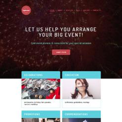 Responsives WordPress Theme für Veranstaltungsplaner
