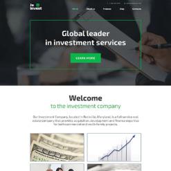 Responsives WordPress Theme für Investmentgesellschaft