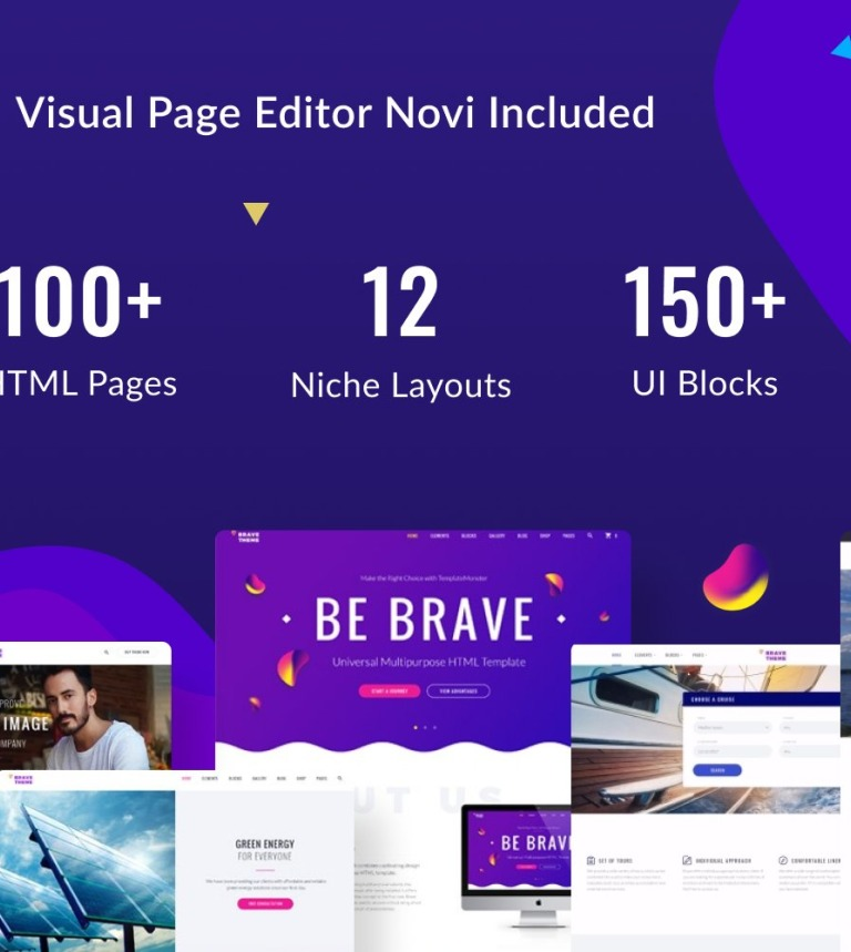 50fc6bf270bab0 Brave Theme - Multipurpose HTML Tema Web №62466
