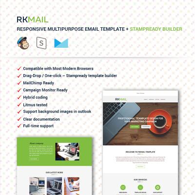 Newsletter Vorlagen | Newsletter Templates | E-Mail Vorlage