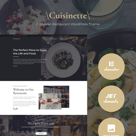Temas WordPress para Sitios de Restaurantes y Alimentación | Goolat
