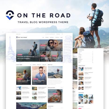 Temas de WordPress para Sitios de Viajes