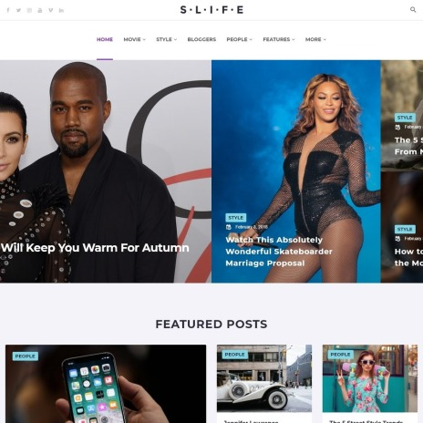 Plantillas WordPress para Sitios de Revistas | Goolat