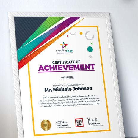 Certificate Templates | Award Certificates | Goolat