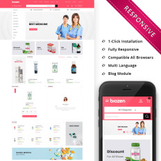 33f86a4d5 BioZen - The Medical Store Responsive. Template PrestaShop ...