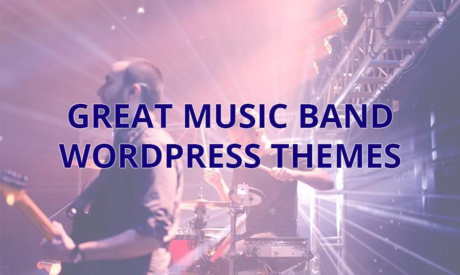 15 Great Music Band WordPress Themes 2018