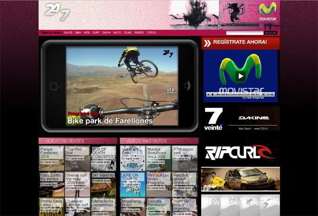 video blog wordpress - 247tv.cl