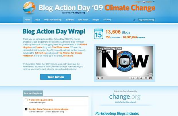 video blog design wordpress - Blogactionday.org