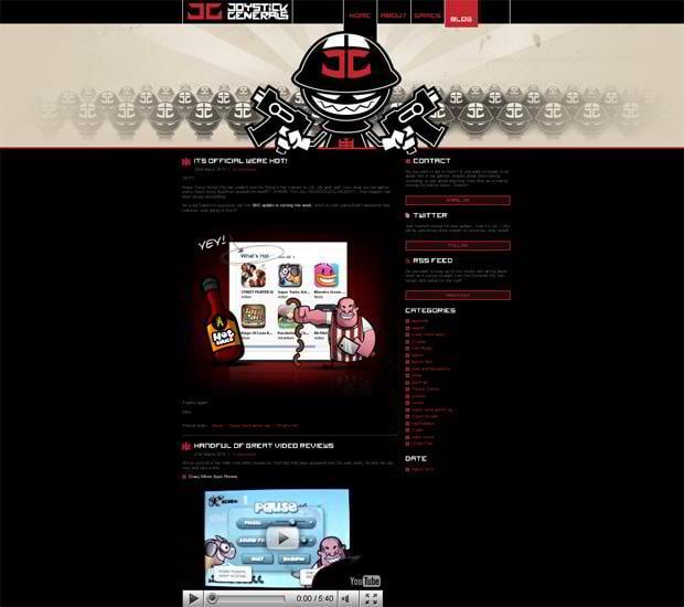 wordpress design video - Joystickgenerals.com