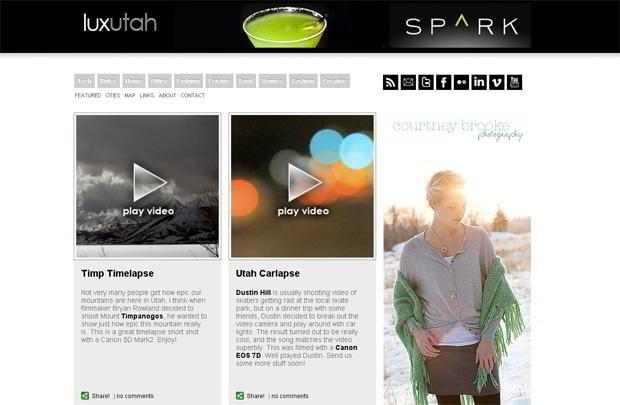 wordpress design for video - Luxutah.com