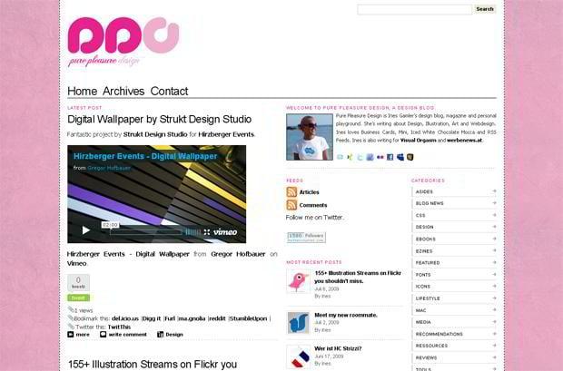 wordpress design for video - Purepleasuredesign.com