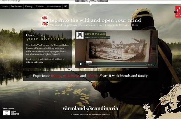 wordpress video blog web design - Varmlandofscandinavia.com