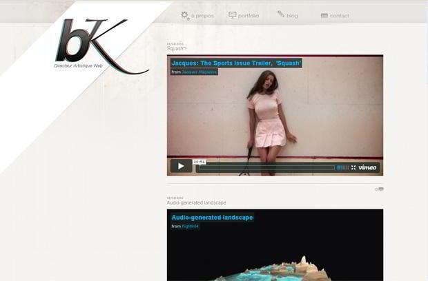 video blogging wordpress design - Viensdansmonbunker.com