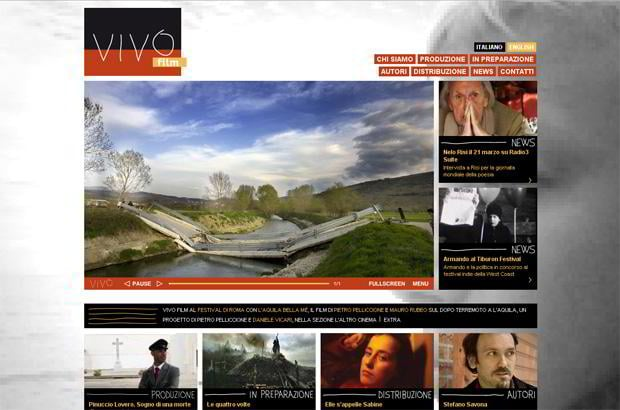 video wordpress design - Vivofilm.it