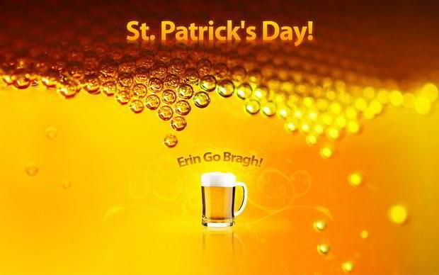 free st. patrick wallpaper - beer