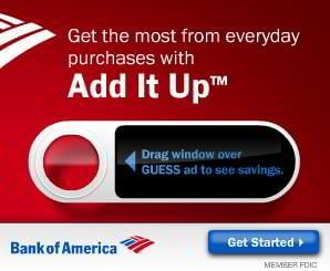 flash banner web design – Bank Of America Add It Up