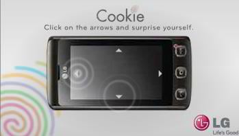 flash banner sample – LG Cookie Movement Sensor