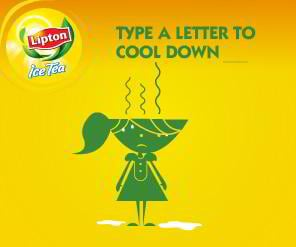 flash banner – Lipton
