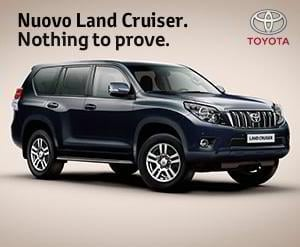 flash banner – Toyota Land Cruiser