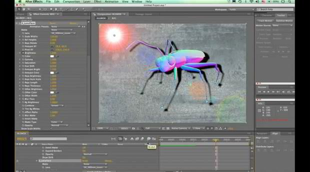 aftereffects tutorial – DropShadow Tutorial for After Effects