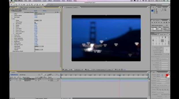 aftereffects video tutorial – RackDefocus Tutorial for After Effects