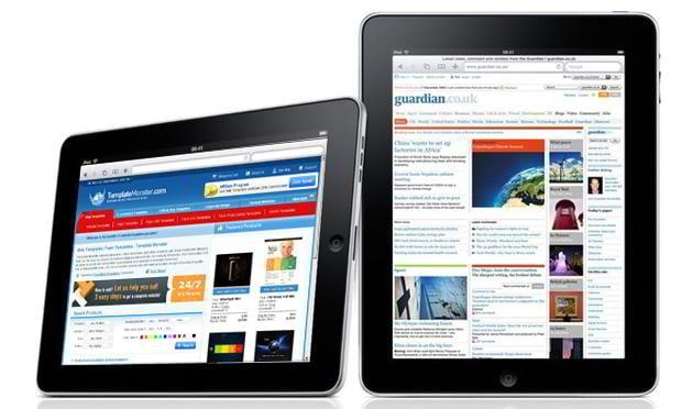 ipad web design