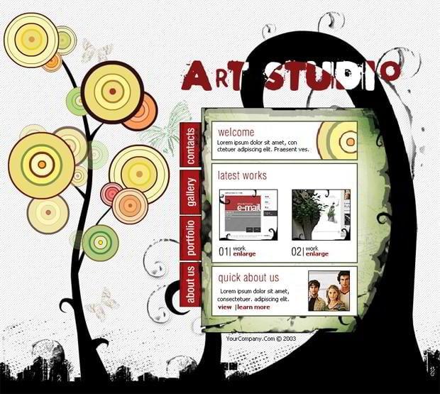 45 ultra effective hand drawn website designs monsterpost. Black Bedroom Furniture Sets. Home Design Ideas