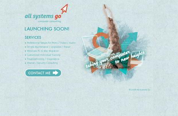 coming soon web design