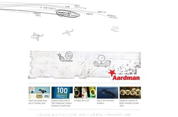 creative website navigation