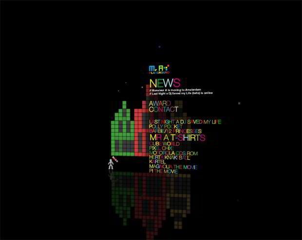 creative website navigations