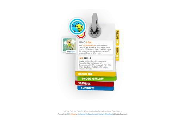 creative web navigations