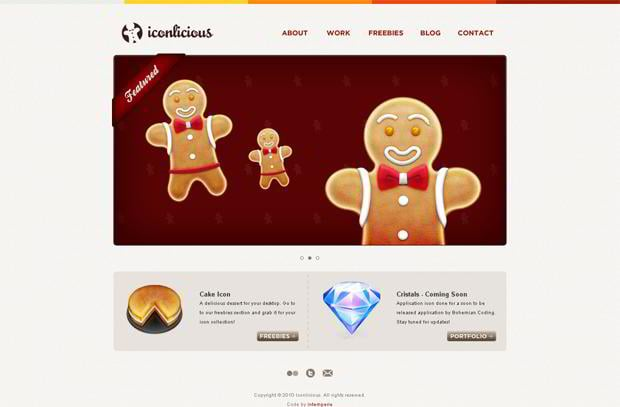 html5 website layout
