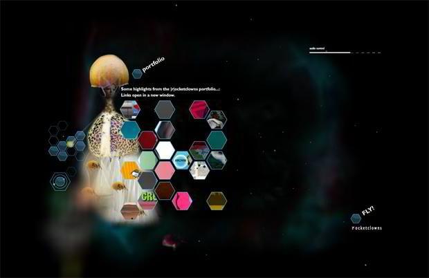creative web navigation