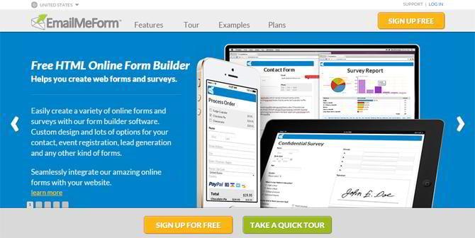 web form free