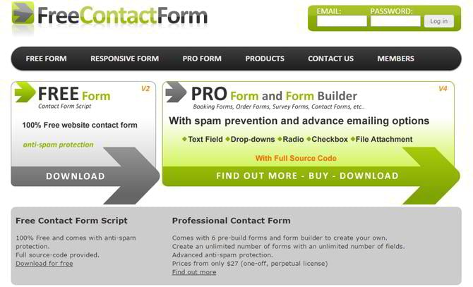 13 Nice Solutions for Free Contact Form Services [Updated Info ...