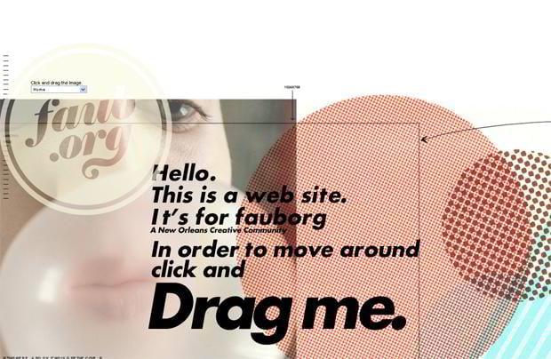 circular website design