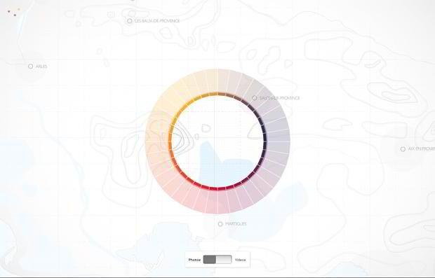 circular website designs