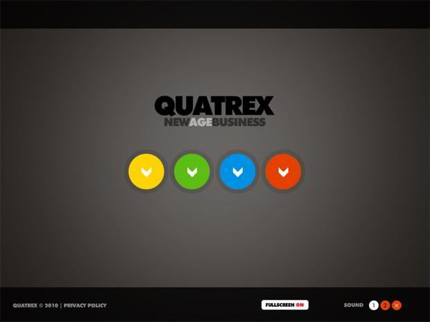 round website designs