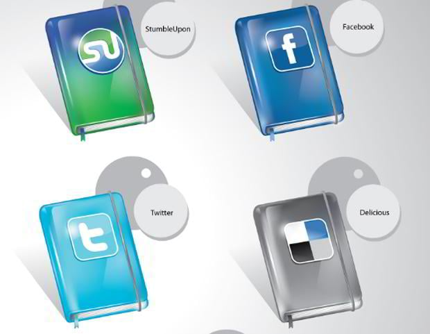 free social networking icons
