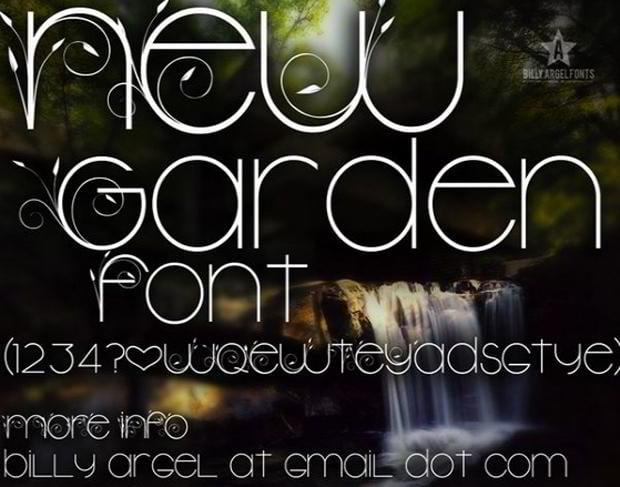 free font type