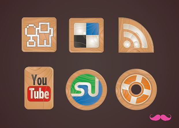 free social networking icon set