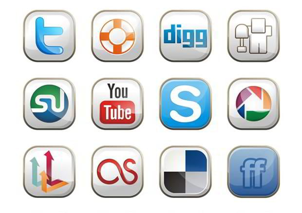 free social icons set