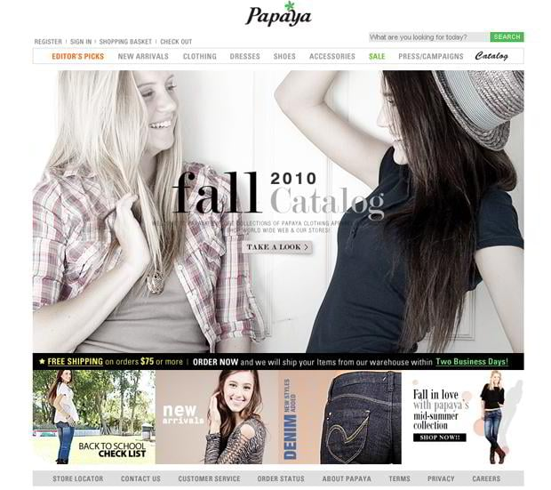 Papaya Clothing is a fashion store that deals in women clothing and accessories. It has been in existence for more than thirty years, expanding over the years to give more women across the US the latest in .