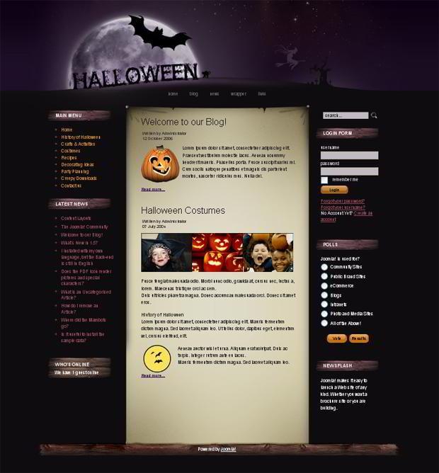 50 Halloween Discounts On Website Templates Monsterpost
