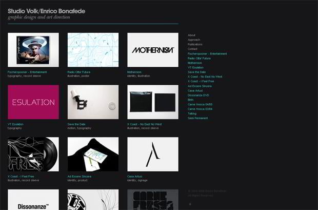 70 Grid-Based Portfolio Web Designs - MonsterPost