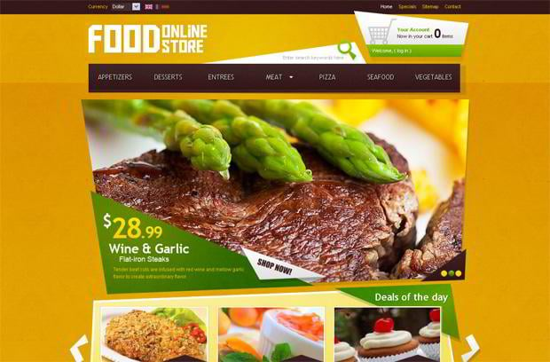 food web template
