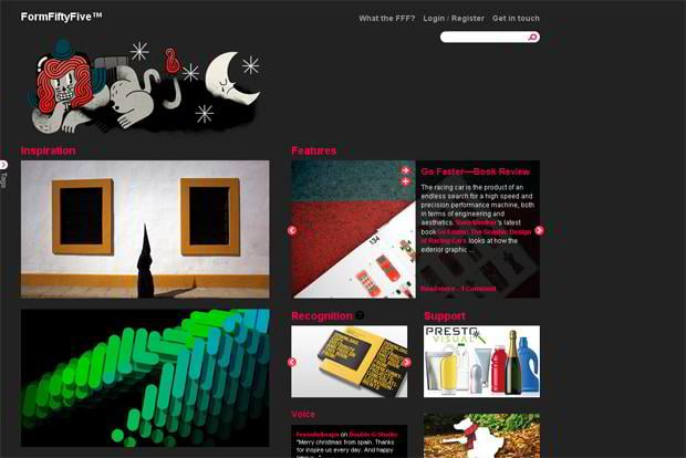 blog website designs
